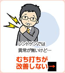 むち打ちが改善しない→